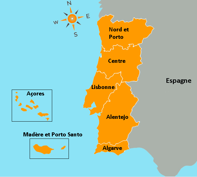 Carte Article sur le Portugal Acqualys