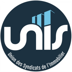 Logo l'UNIS Union des Syndicats de l'immobilier